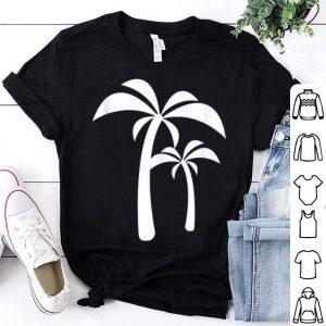 White Palm Tree Summer Vacation shirt