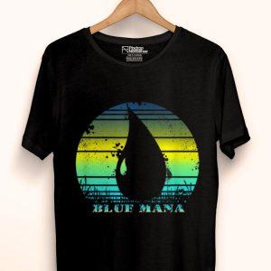 Vintage Gathering Of Magic Blue Mana 80s Game RPG shirt
