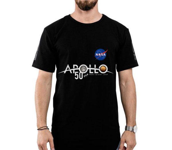 Apollo 11 50th Anniversary Logo Nasa Space Moon And Mars shirt