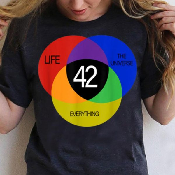 42 The Answer To Life The Universe And Everything shirt