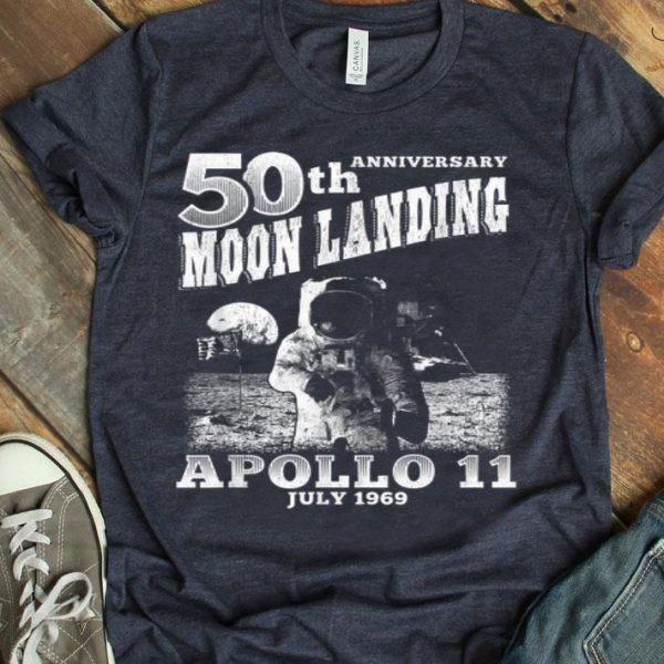 50th Anniversary Moon Landing Apollo 11 July 1969 shirt
