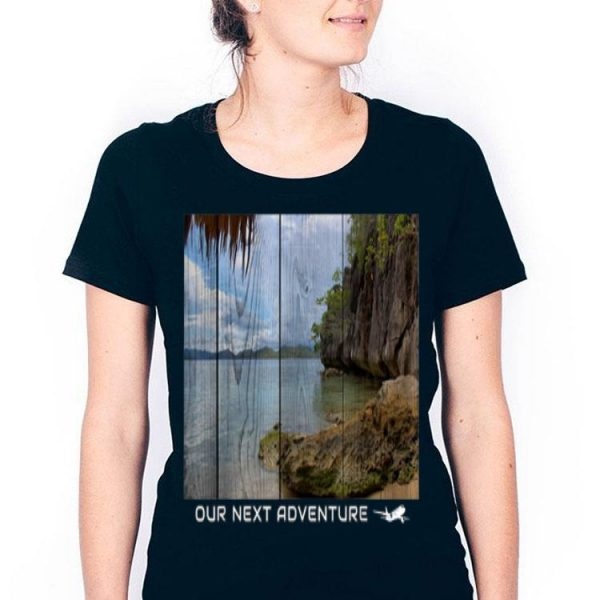 Abstract Adventures And Beach Holiday Vacation shirt