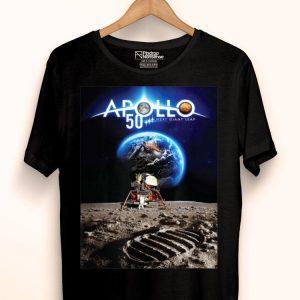 Apollo 11 50th Anniversary Poster Design Nasa Space shirt