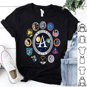 Apollo Missions Patch Badge NASA Program shirt