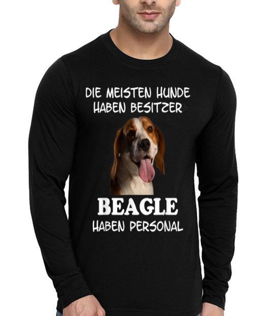 Beagle Hund Geschenk Damen Herren shirt