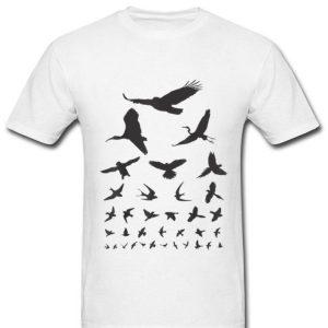 Birding Birdwatching Eye Chart All Kind Of Bird shirt