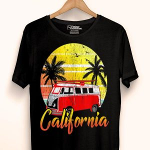 California Van Surf Hippie shirt