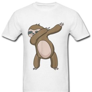 Dabbing Sloth Lazy Sloth Hip Hop Dab Dance shirt