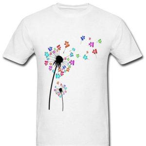Dandelion Flowers Family Autism Awareness shirt