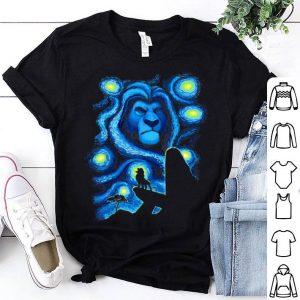 Disney Lion King Mufasa Starry Night Pride Rock shirt