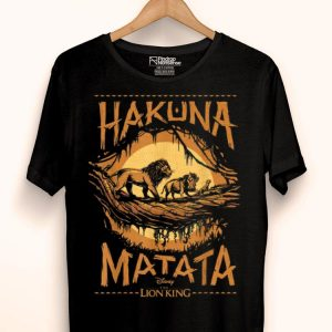 Disney Lion King Simba Timon Pumba Hakuna Matata shirt