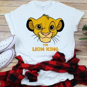 Disney Lion King Young Simba Head The King Is Smiling shirt