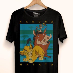 Disney The Lion King Hakuna Matata Squad shirt