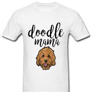 Doodle Mama Cute Dog Face Goldendoodle shirt
