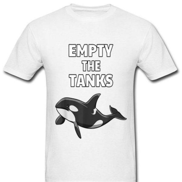 Empty the Tanks Orca Activist Orca Lover shirt