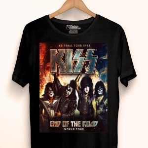 End Of The Years Kiss Road Tour 2019 shirt