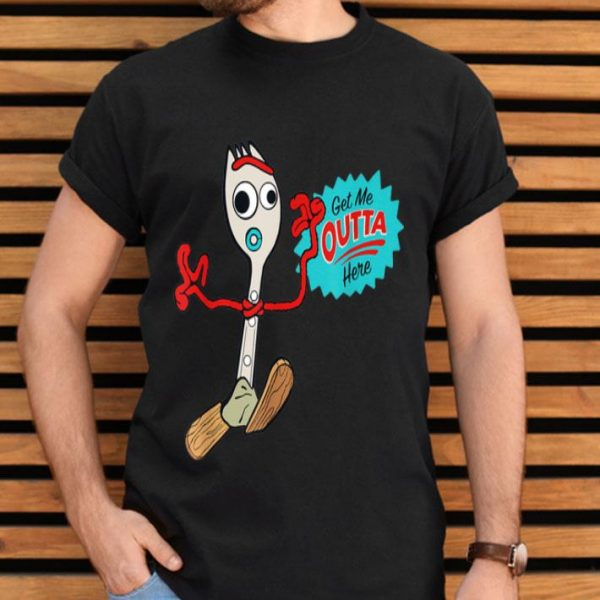 Forky Get Me Outta Here Disney Pixar Toy Story 4 shirt