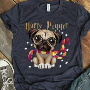 Harry Pugger Funny Dogs And Harry Potter Pug Lovers shirt