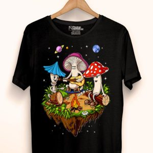 Hippie Magic Mushrooms Psychedelic Psilocybin Fungus Shrooms shirt