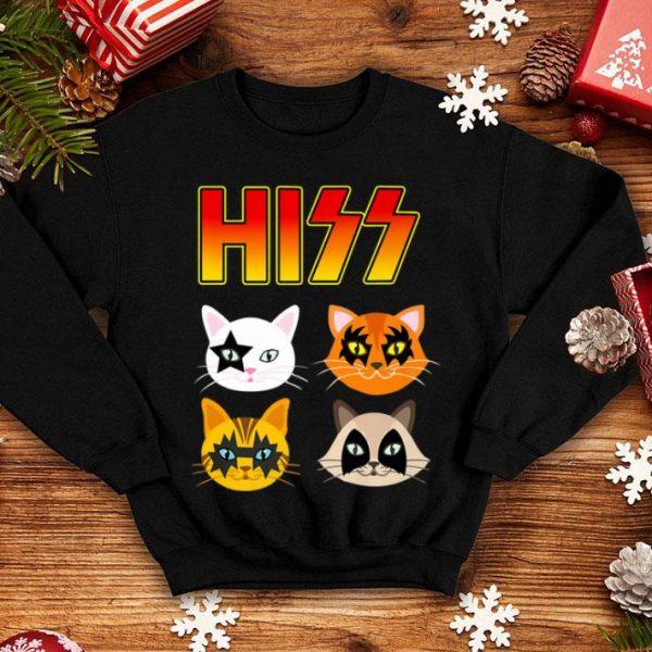 Hiss Cats Kittens Rock Rockin Hizz Cats shirt