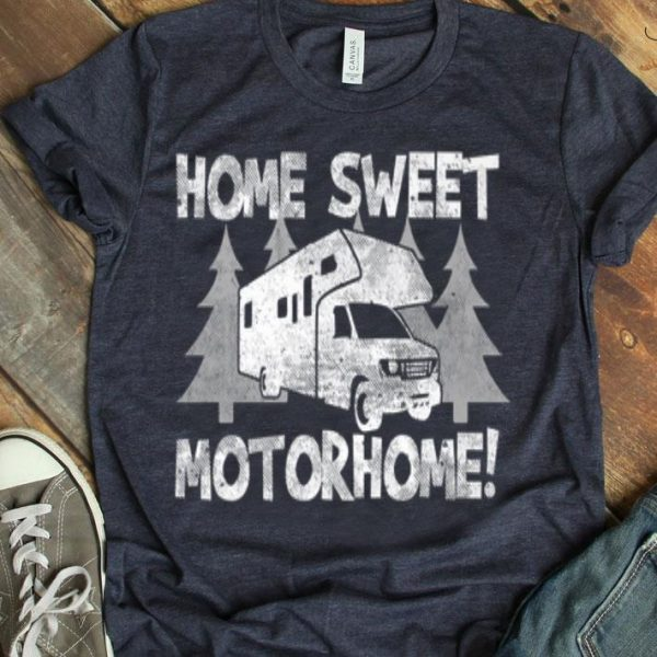 Home Sweet Motorhome Trailer Camping Family Summer Camping shirt