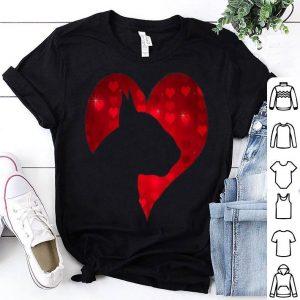 I Love My English Bull Terrier Dog Romantic Heart Dog Lover shirt