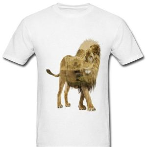 Lion Duble Seeing Inside The King shirt