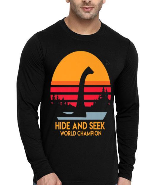 Loch Ness Hide And Seek World Champion Hunting Hiking shirt