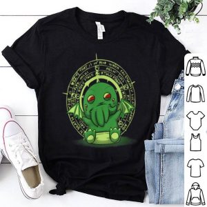 Lovecraft Little Cthulhu Cute Monster Of The Deep Sea shirt