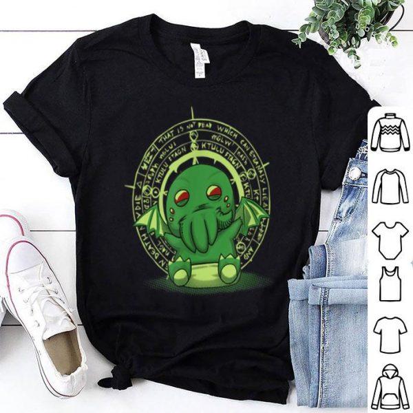 Lovecraft Little Cthulhu Cute Monster Of The Deep Sea shirt
