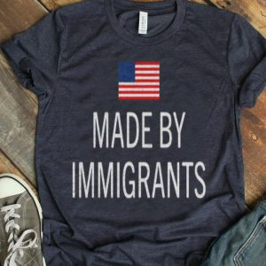 Made By Immigrants American Flag shirt