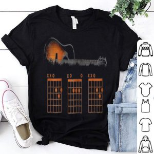 Mens Guitar Chord Dad Rhythm shirt
