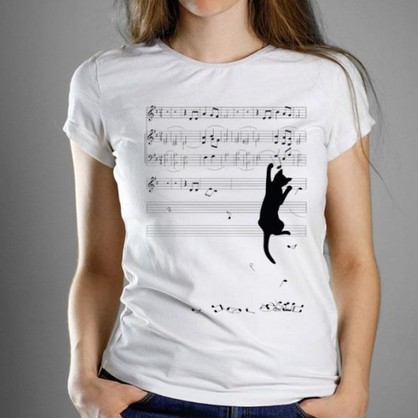 Mischief Classic Black Cat Make The Music Rhythm Collapse shirt