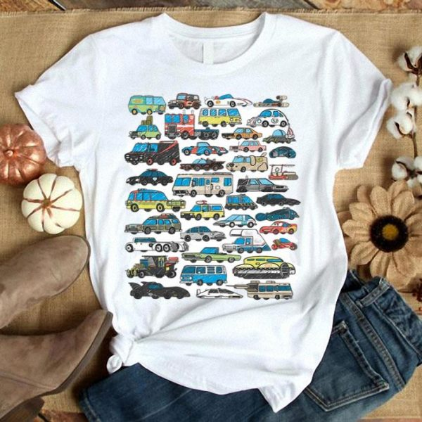 Most Famous Cars Vehicles In Movies Supercar Royce shirt