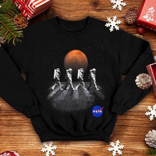 NASA Walking Astronauts In Space Mars shirt