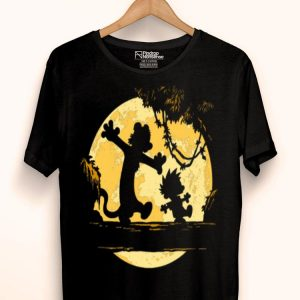 No Worries Lion King Walking In The Moon shirt