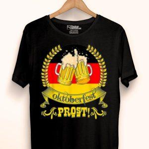 Oktoberfest Prost Bier Festival German Flag Beer Mugs shirt