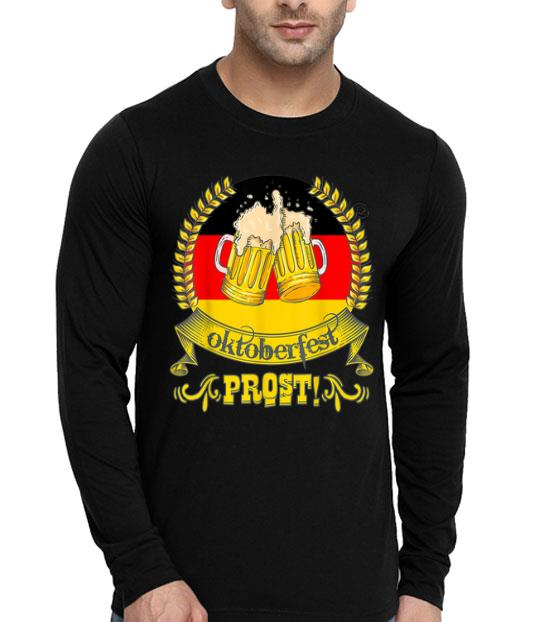 Oktoberfest Prost Bier Festival German Flag Beer Mugs shirt