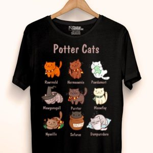 Potter Cats Harry Potter And Cat - Cat Lovers shirt