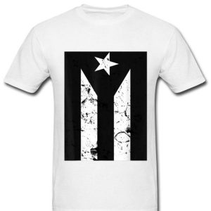 Puerto Rican Black Flag Resiste Boricua shirt