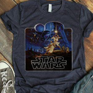 Star Wars Epic Classic New Hope Vintage Badge shirt