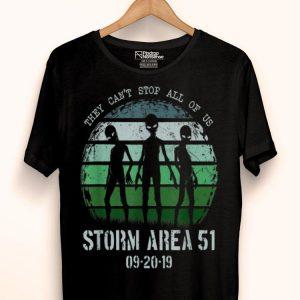 Storm Area 51 Alien Trio UFO Truth Movement shirt