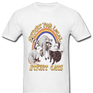 Support Your Local Street Cats Ratel Mouse shirt