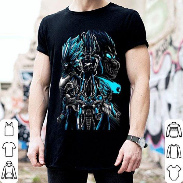 Transformations Of Prince Vegeta Dragon Ball shirt