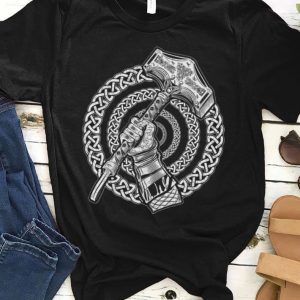 Viking Knots Norse Mythology Hammer Of Thor shirt