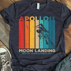 Vintage Apollo 11 50th Anniversary Moon Landing Astronaut 1969 shirt
