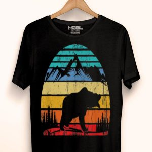 Vintage Bear Graphic Campers shirt