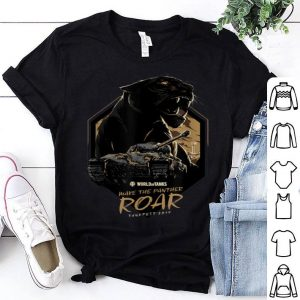 World of Tanks Make the Panther Roar Tankfest Black Panther shirt