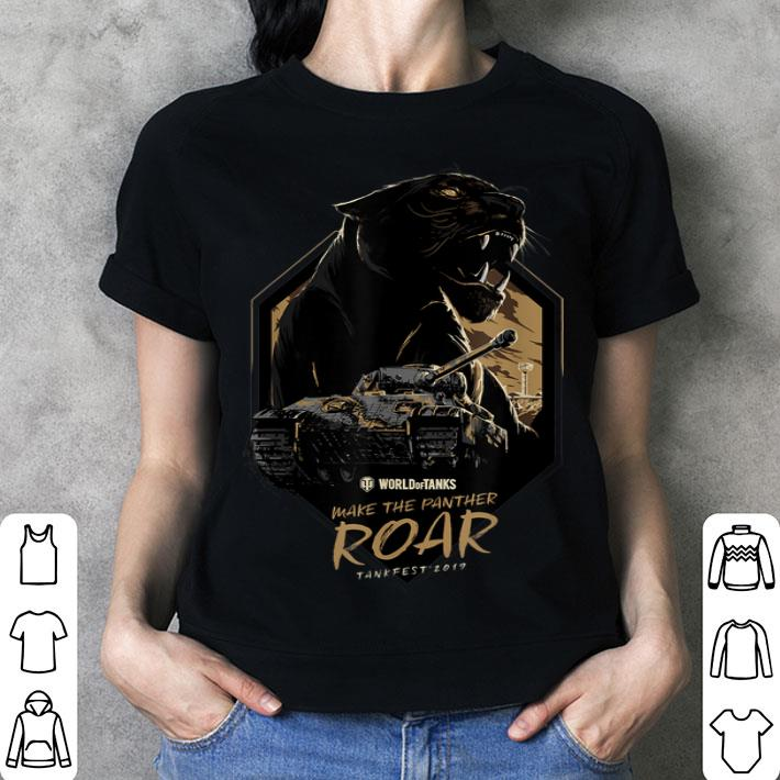 World of Tanks Make the Panther Roar T-Shirt