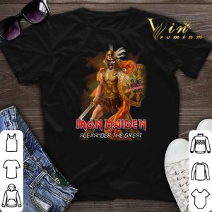 Alexander the great Iron Maiden shirt